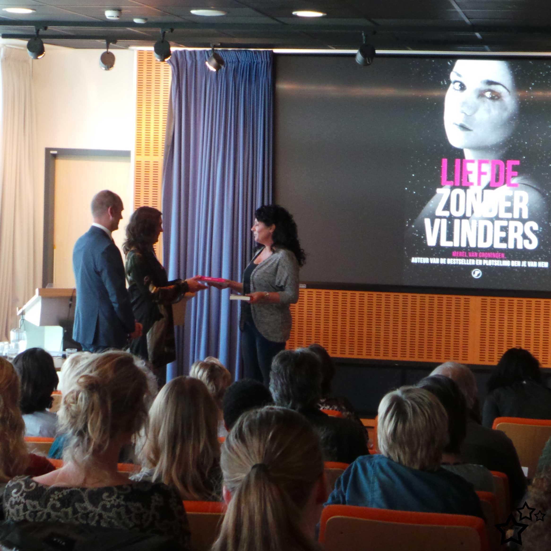 Gert-Jan Segers | Marith Rebel-Volp | overhandiging | boek | Merel van Groningen | Liefde zonder vlinders